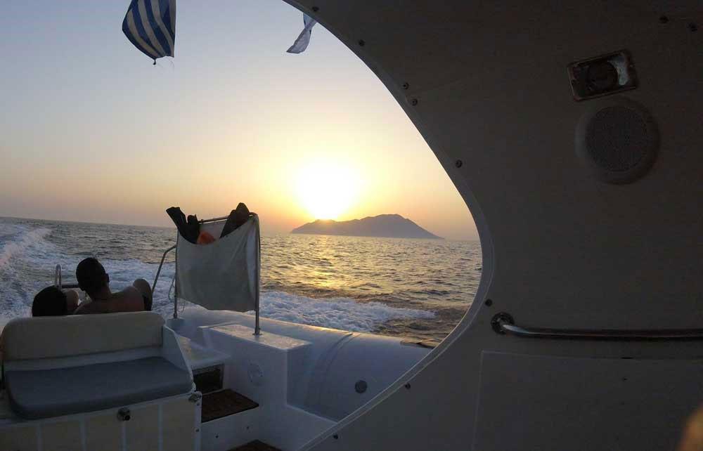 Adventure Boat Tour in Milos Island Cyclades