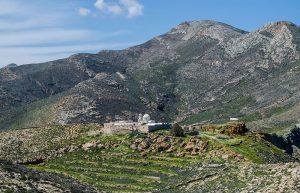 Zoodohos Pigi Monastery in Anafi